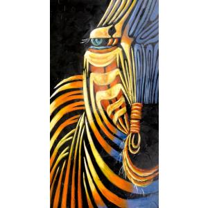 Dekoratif Zebra Tabloları, TABLO 03