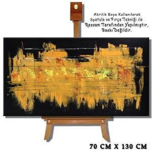 Soyut Tablolar, Abstract dekoratif tablo, Modern Dekoratif 07