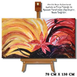 Soyut Tablolar, Abstract dekoratif tablo, Modern Dekoratif 04